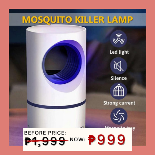 11.11  Portable Electronic Mosquito Killer + FREE GIFT ⭐⭐⭐⭐⭐