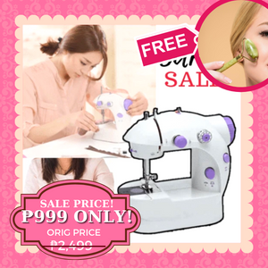 AZE Mini Dual Speed Sewing Machine + FREE GIFT  ⭐⭐⭐⭐⭐