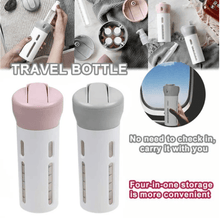 Load image into Gallery viewer, 4 IN 1 SMART TRAVEL BUDDY BOTTLE