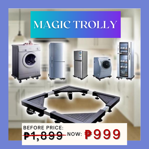 11.11 Magic Trolly  + FREE GIFT (75% OFF TODAY ONLY) ⭐⭐⭐⭐⭐