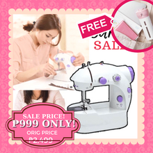 Load image into Gallery viewer, AZE Mini Dual Speed Sewing Machine + FREE GIFT  ⭐⭐⭐⭐⭐