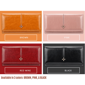 BUY 1 TAKE 1 LONG ANASTASIA LUXURY PHONE WALLET PURSE 💕