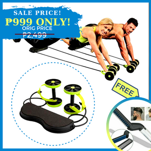 AZE POWERFUL ABS TRAINER + FREE GIFT ⭐⭐⭐⭐⭐