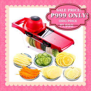 AZE (women) 6-in-1 Multifunctional Mandoline Slicer + FREE GIFT  ⭐⭐⭐⭐⭐