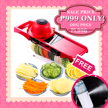 Load image into Gallery viewer, AZE (women) 6-in-1 Multifunctional Mandoline Slicer + FREE GIFT  ⭐⭐⭐⭐⭐