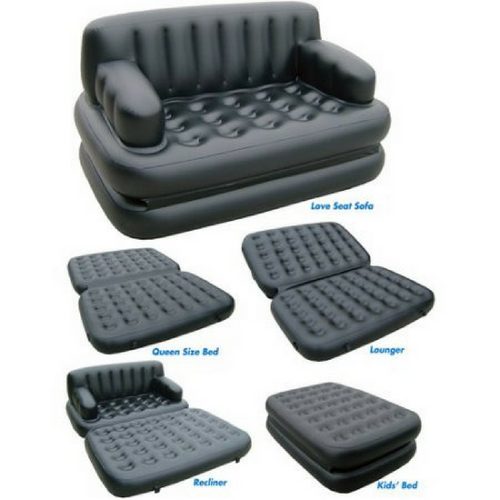 Amazing 5 in 1 Sofa Bed + FREE Electric Pump