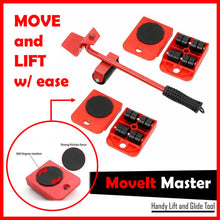 Load image into Gallery viewer, MoveIt Master Lift & Glide Tool + FREE GIFT ⭐⭐⭐⭐⭐