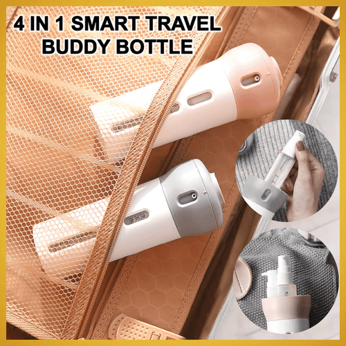4 IN 1 SMART TRAVEL BUDDY BOTTLE
