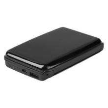 E-Charge Wallet with RFID Blocking Technology & Power bank