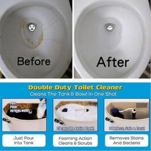 TOILET TANK AND BOWL CLEANER (BUY 1 TAKE 1 PROMO)