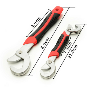 SNAP'N GRIP UNIVERSAL WRENCH (SET OF 2)