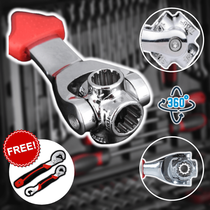 48-in-1 Universal Socket Wrench FREE Universal Wrench
