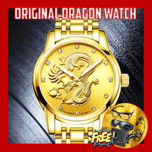 Load image into Gallery viewer, Original Lucky Dragon Watch for Men  + FREE CLASSIC WALLET + HD VISION + STEREO EARPHONES