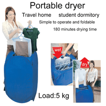 Load image into Gallery viewer, Portable Convection Clothes Dryer