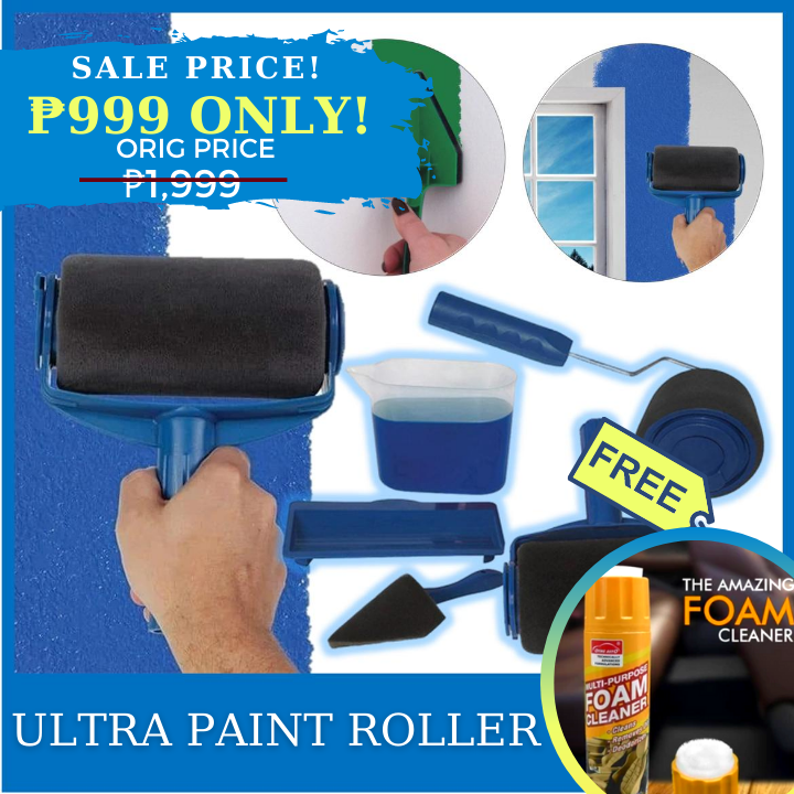 AZE Ultra Paint Roller + FREE GIFT ⭐⭐⭐⭐⭐