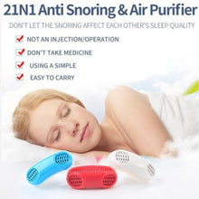 Load image into Gallery viewer, Anti Snoring and Air Purifier (BUY 1 TAKE 1) ⭐⭐⭐⭐⭐