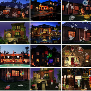 Spectacular Moving Christmas/Party Outdoor Projector with 12 Slides