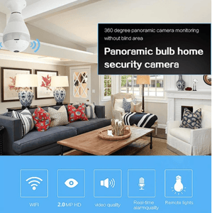 Panoramic CCTV Security Camera ⭐⭐⭐⭐⭐