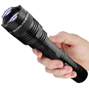 3-in-1 Self Defense Stun Gun Flashlight + FREE Pepper Spray