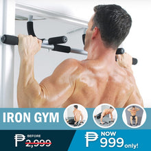 Load image into Gallery viewer, Iron Gym Body Portable Workout bar + FREE GIFT ⭐⭐⭐⭐⭐
