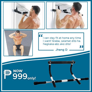 Iron Gym Body Portable Workout bar ⭐⭐⭐⭐⭐