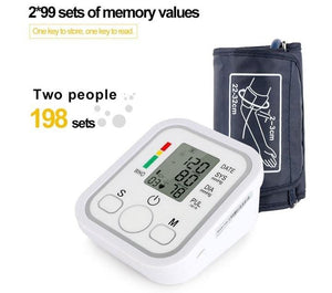 High Precision Digital Blood Pressure Monitor  with FREE PILL PRO