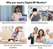 Load image into Gallery viewer, High Precision Digital Blood Pressure Monitor  with FREE PILL PRO