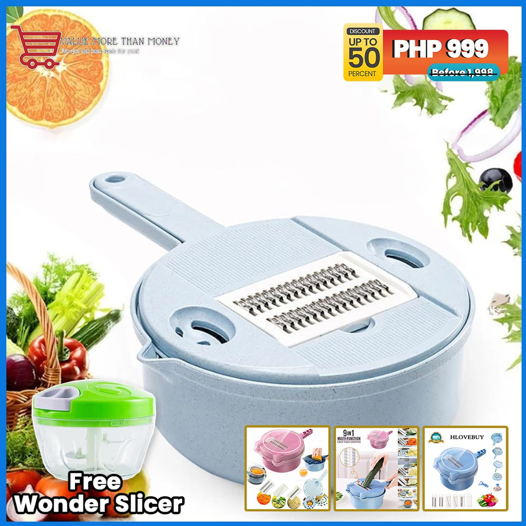 All-in-One Vegetable Cutter (with FREE WONDER SLICER)