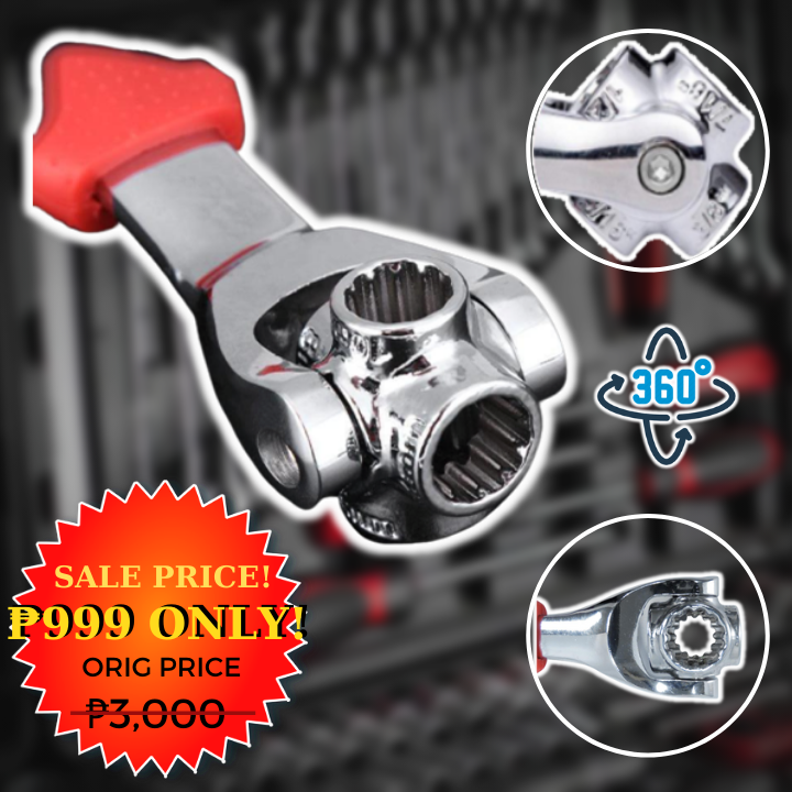 48-in-1 Universal Socket Wrench +  FREE GIFT