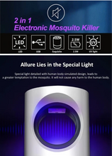 Load image into Gallery viewer, Portable Electronic Mosquito Killer + FREE GIFT ⭐⭐⭐⭐⭐
