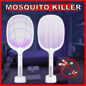 2 IN 1 LAMP & RACKET ELECTRIC MOSQUITO KILLER 🦟🦟🦟