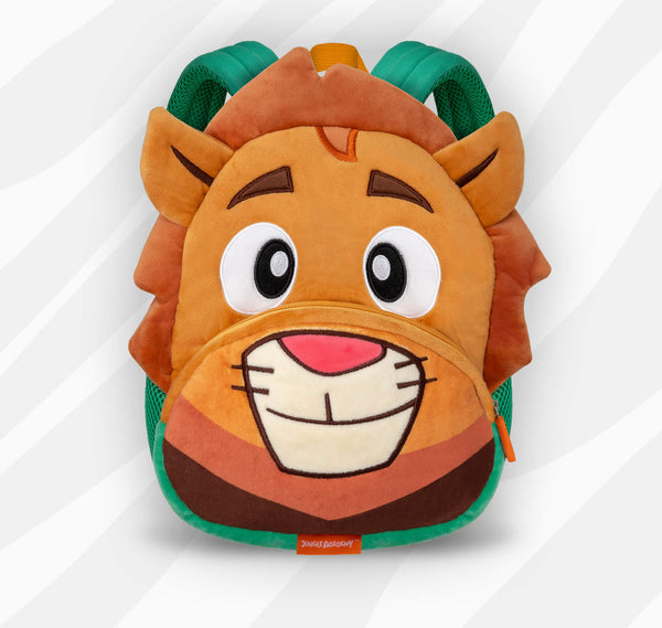 Lionel the Lion | Adorable Backpacks for Little Geniuses