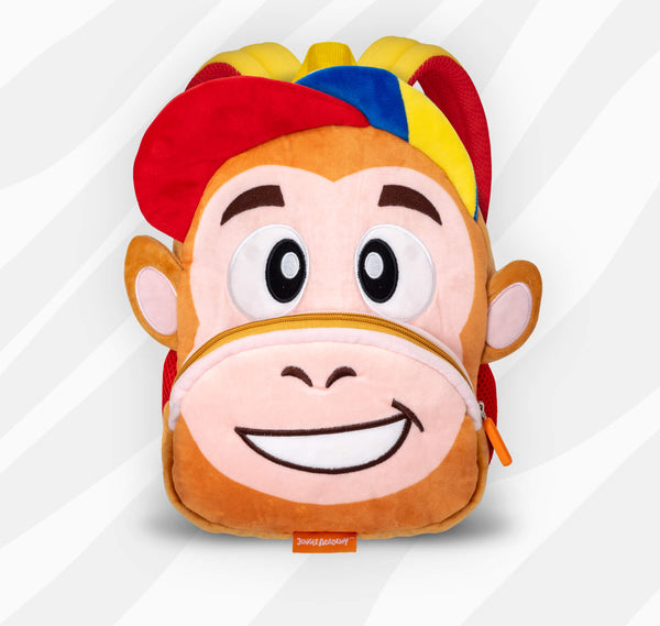 Russell the Monkey | Adorable Backpacks for Little Geniuses