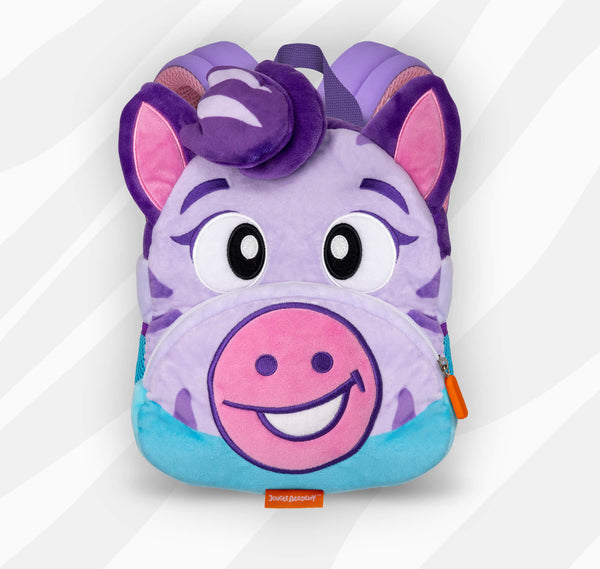 Zoe the Zebra | Adorable Backpacks for Little Geniuses