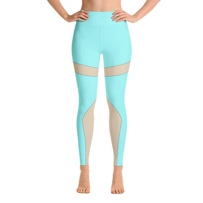 . High Waist Blue Moon Leggings