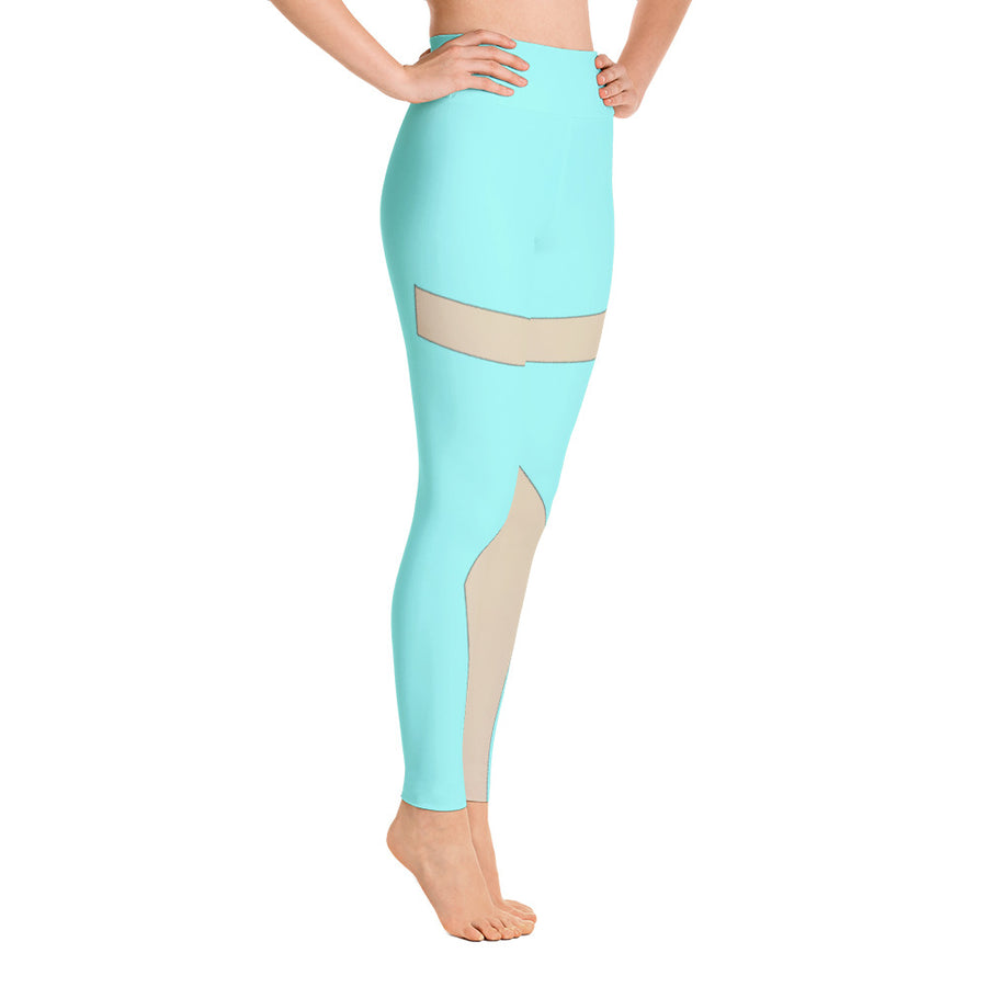 High Waist Blue Moon Leggings