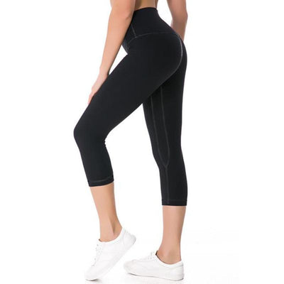 Compression Fitted Body Shaping Training Capris