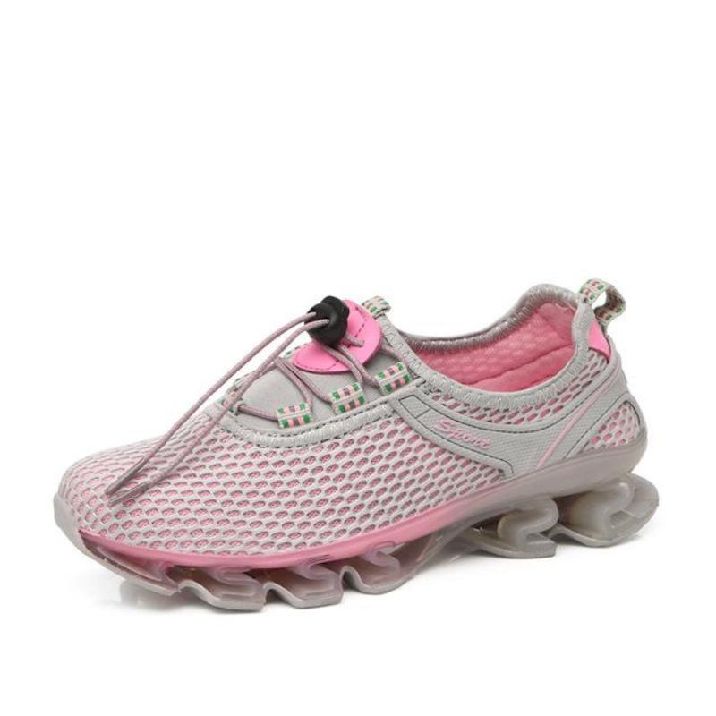 Spring Suspension Outdoor Sprinting Sneakers