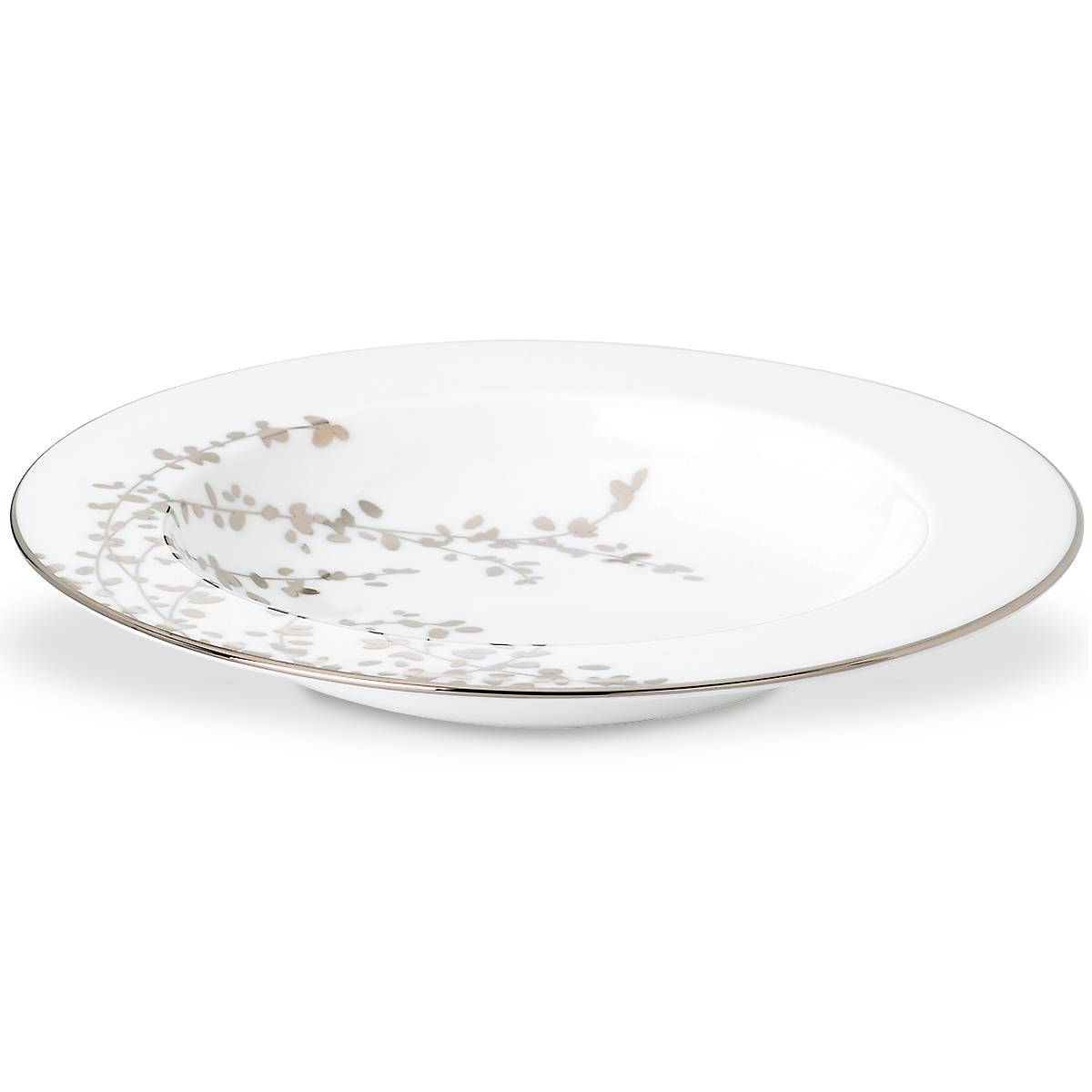Gardner Street Platinum Pasta Bowl Lenox Corporation