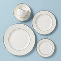 Opal Innocence Stripe 5-piece Place Setting + Bonus