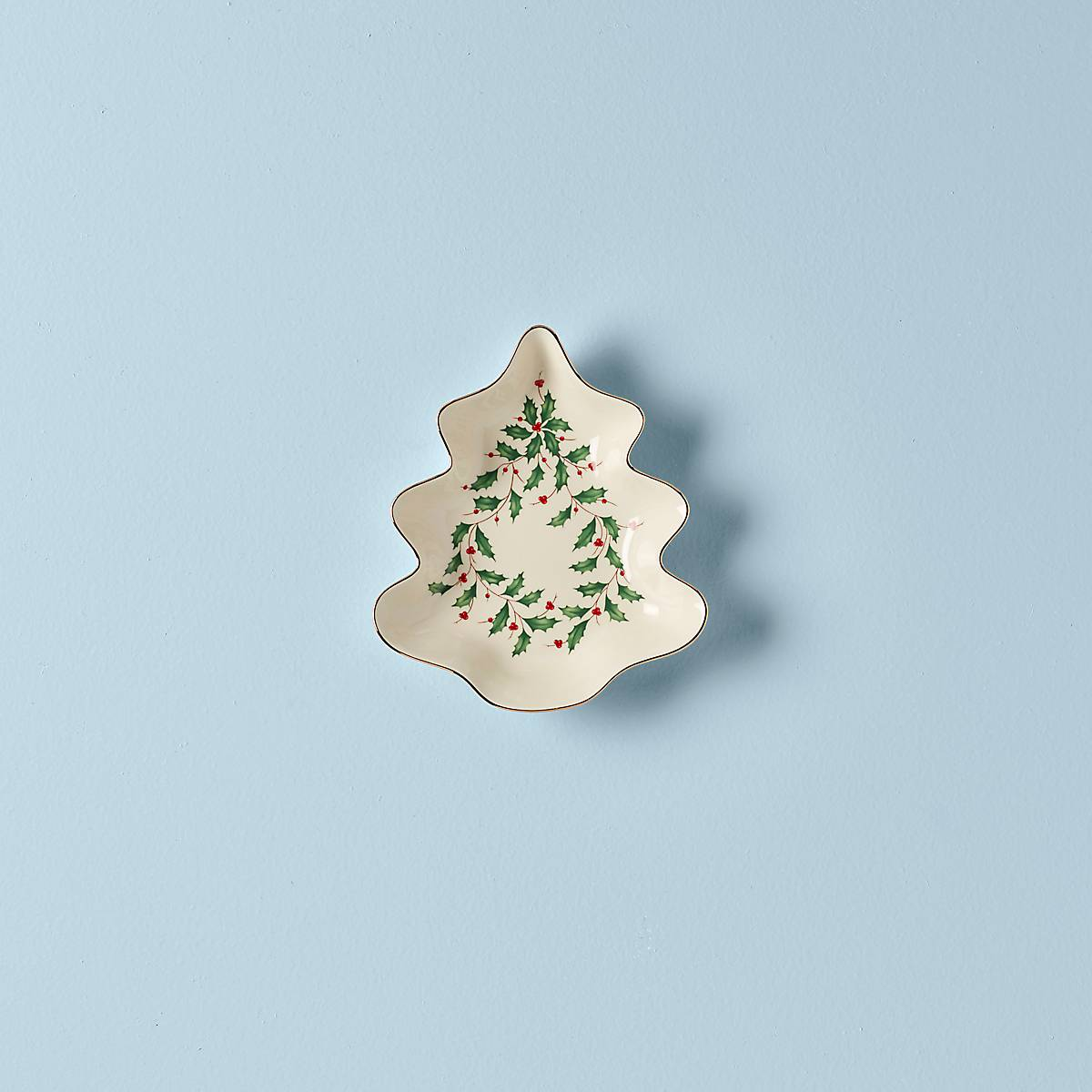s Lenox Winter Greetings Tree Candy Dish