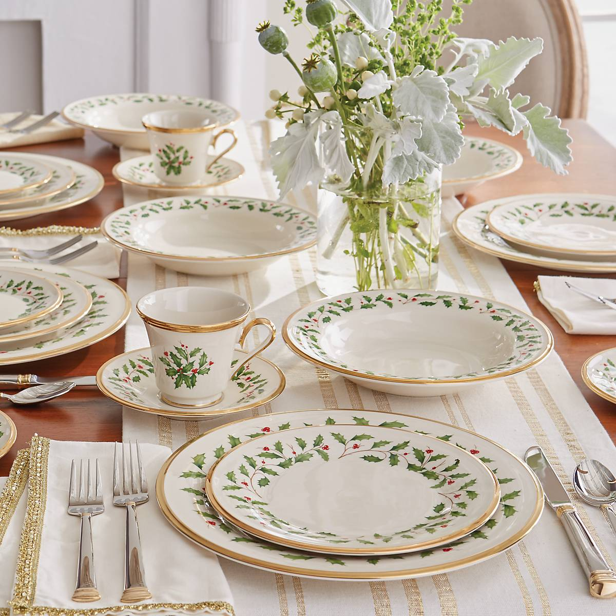 Holiday Dinner Plate Set Buy 3 Get 6 Lenox Corporation