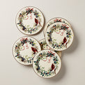 Winter Greetings Salad Plate Set, Buy 3 Get 6