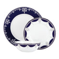 Empire Pearl Indigo™ 3-piece Place Setting