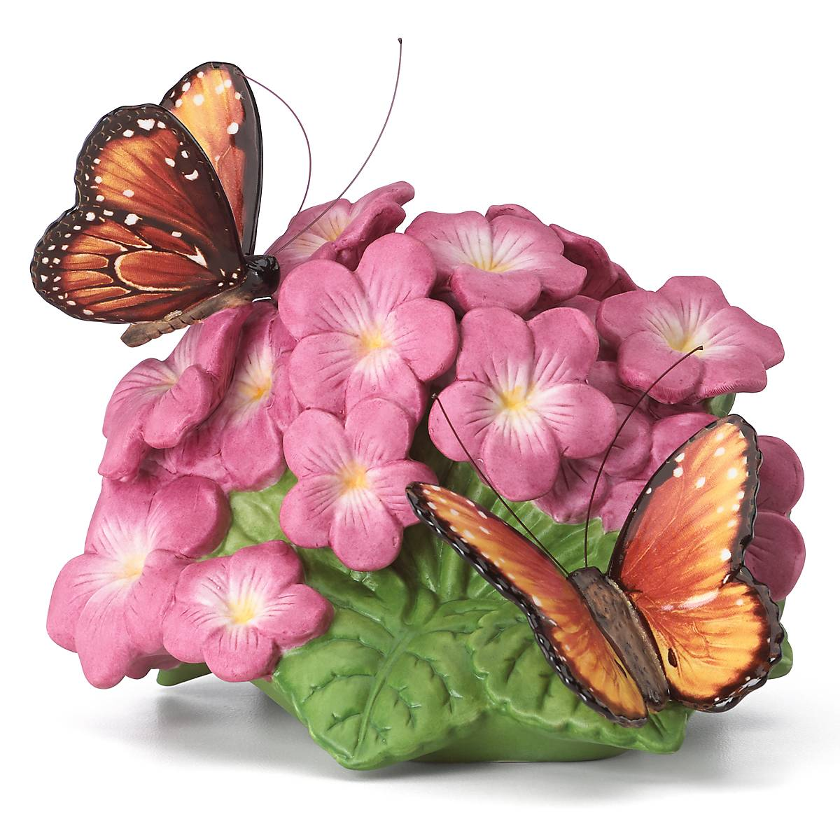 Image of Amazing Floral and Butterfly Figurine - Queen Majesty