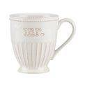 French Perle Groove Mr. Mug