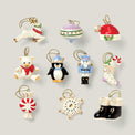 Christmas Memories 10-Piece Ornament & Tree Set