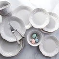 French Perle White™ 12-piece Dinnerware Set