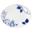 Birch Way Indigo Serving Platter