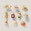 Autumn Favorites 10-piece Ornament & Tree Set